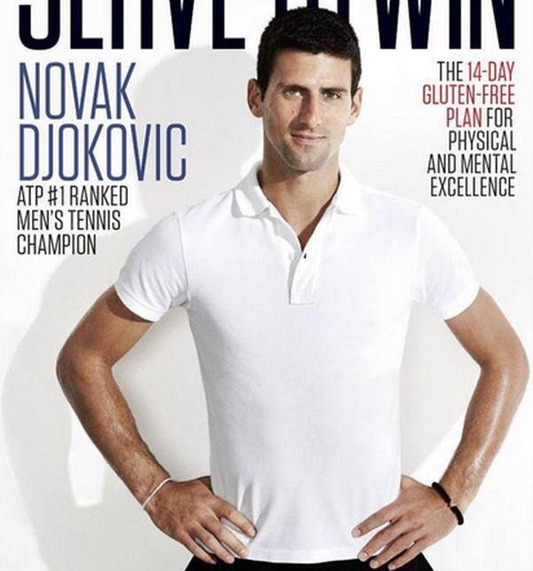 Novak Djokovic – Fara gluten – dieta castigatoare in tenis, dar nu numai!